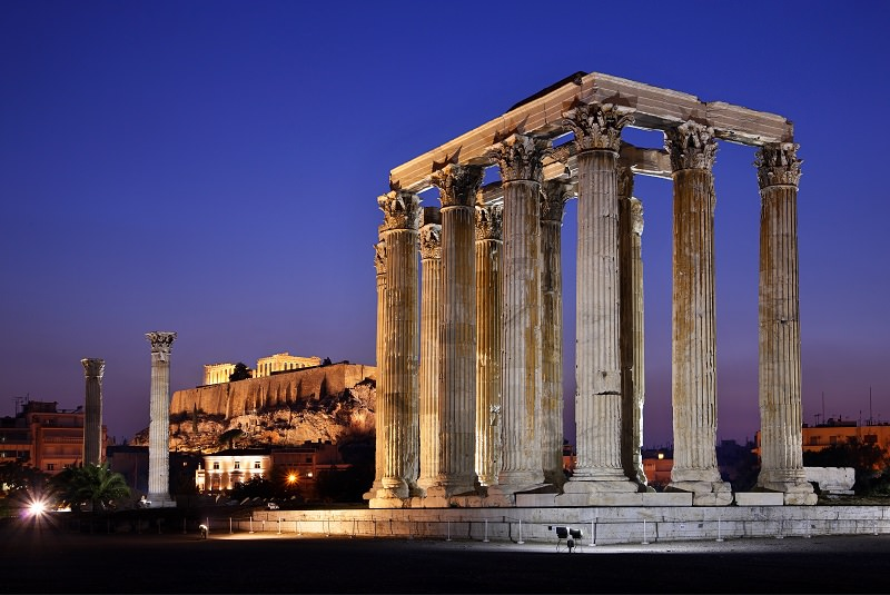معبد زئوس المپ آتن