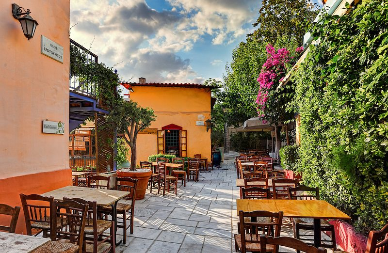 پلاکا و آنافیونیکا یونان
