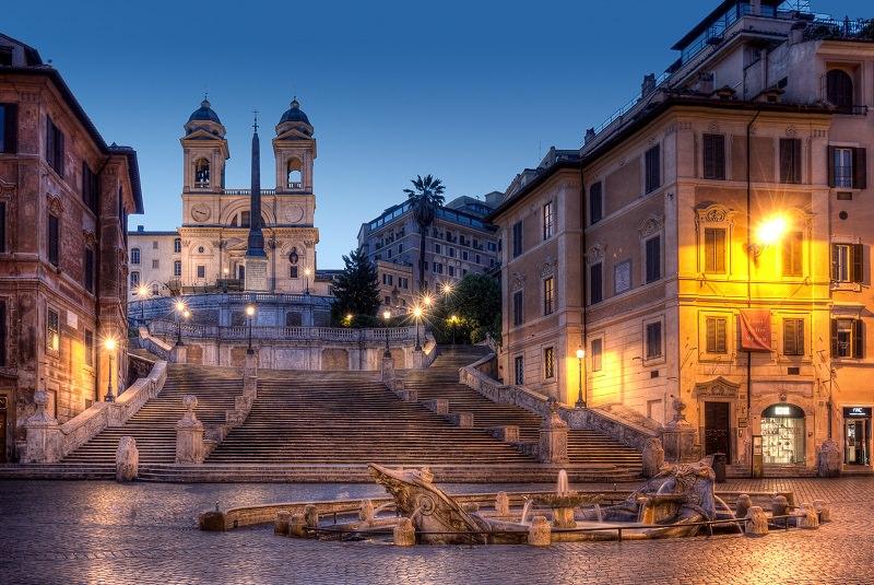 Image result for پلکان مقدس ایتالیا