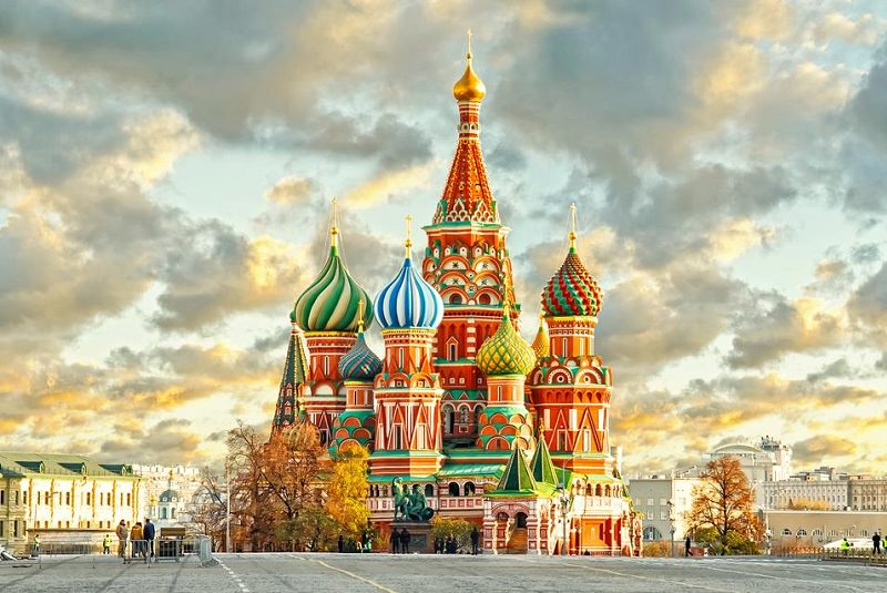 کلیسای جامع باسیل - مسکو