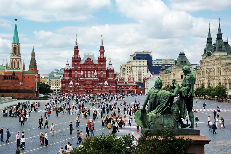میدان سرخ مسکو - روسیه