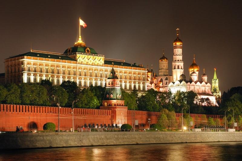 کاخ کرملین مسکو - روسیه