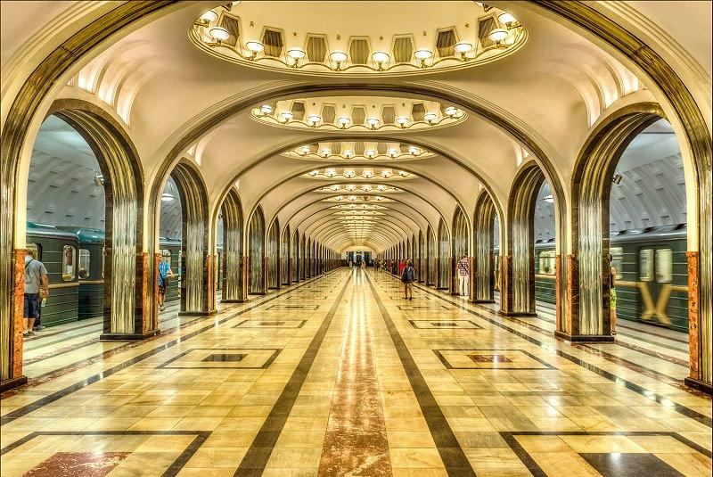 مترو مسکو - روسیه