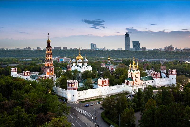 آرامستان ناوادِویچی مسکو - روسیه