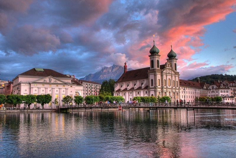 جاذبه های گردشگری لوسرن سوئیس