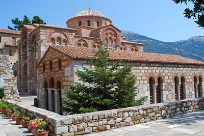 صومعه دفنی یونان