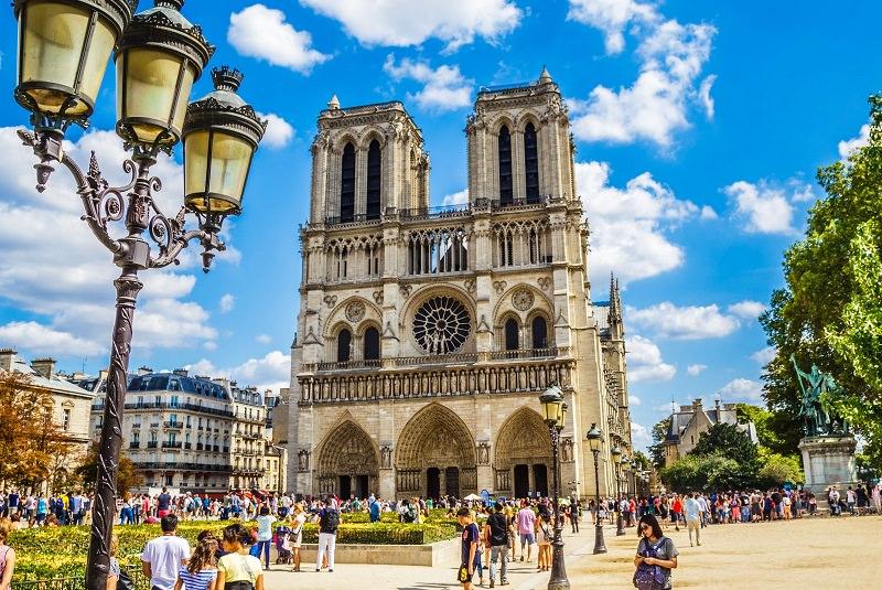کلیسای جامع نوتردام پاریس