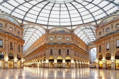 تاریخچه گالری زیبای ویتوریو امانوئل در میلان