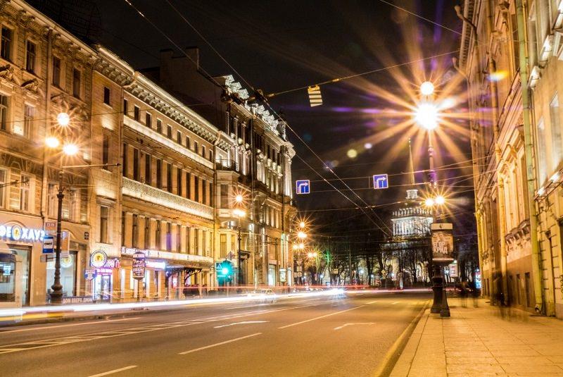 خیابان نوسکی سن پترزبوزگ