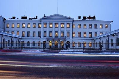 کاخ ریاست جمهوری هلسینکی، جاذبهای خاص در فنلاند