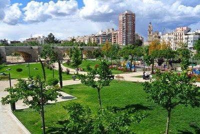 پارک توریا، بزرگترین پارک شهری اسپانیا