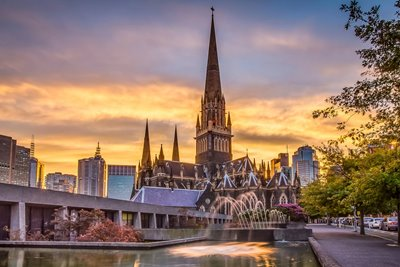پاتریک مقدس ملبورن؛ مرتفع ترین کلیسای استرالیا