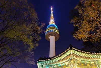 برج N، بلندترین نقطه سئول
