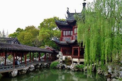 باغ یو شانگهای، گردشگاهی بی نظیر در چین