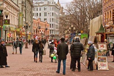 خیابان آربات، از قدیمیترین خیابانهای مسکو