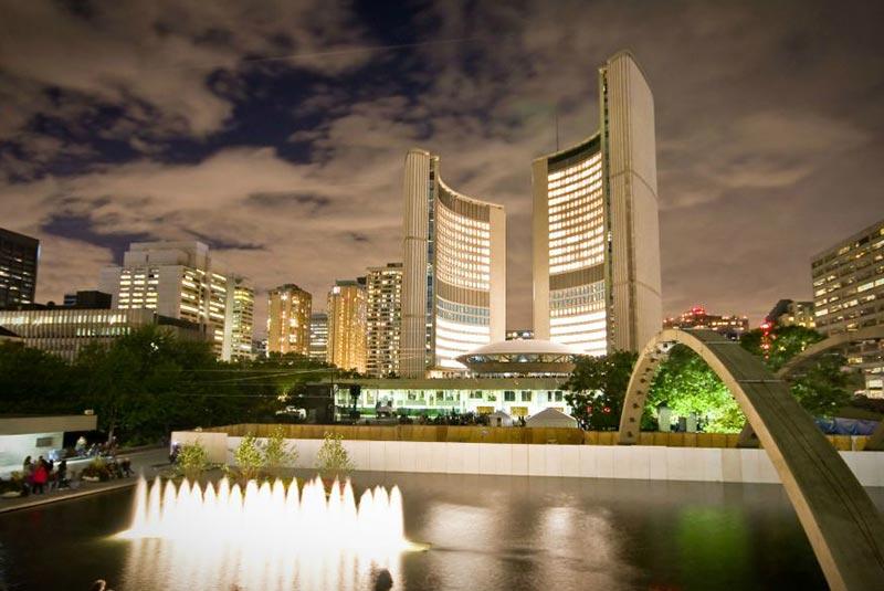 ساختمان شهرداری تورنتو