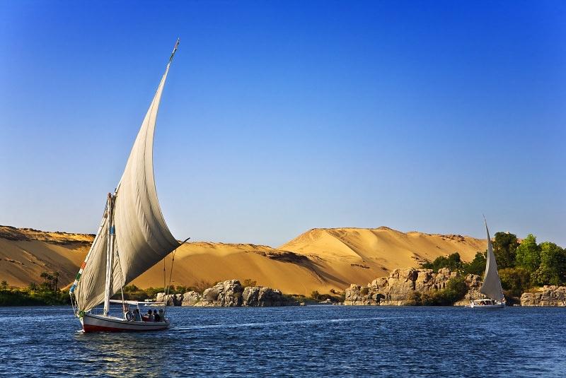 فلوقه - رودخانه نیل
