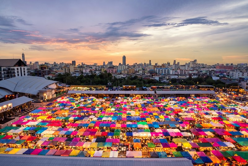 بازار چاتو چاک بانکوک | Chatuchak Market