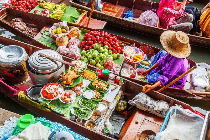 بازار شناور | Damnoen Saduak Floating Market
