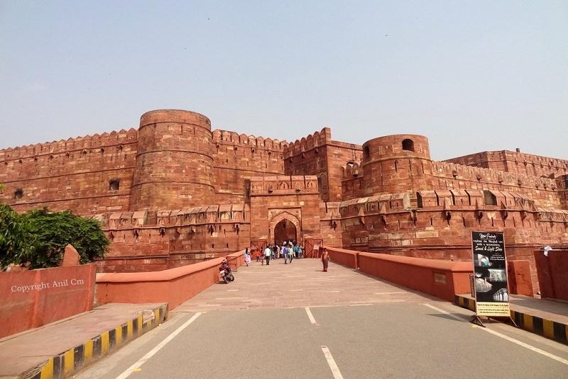 دژ آگرا - تور هند