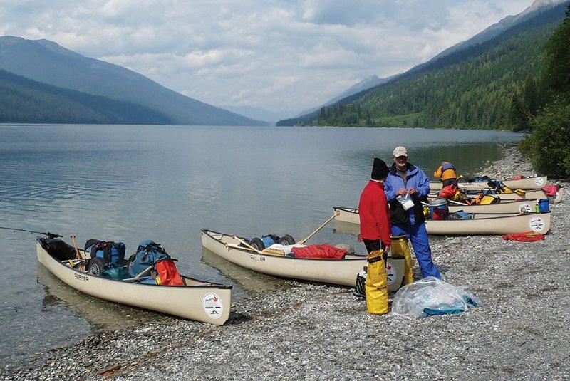 دریاچهی باورون، کانادا