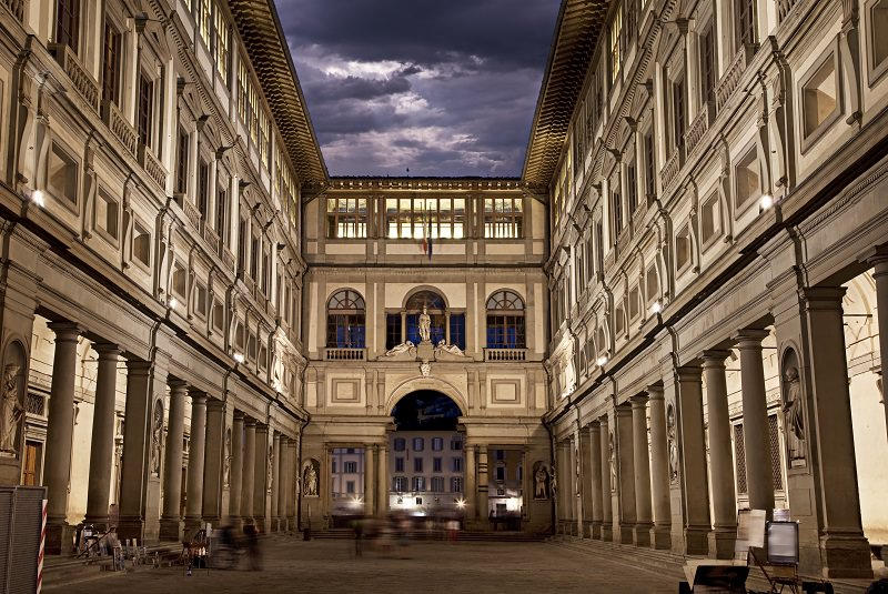 Uffizi Palace and Gallery
