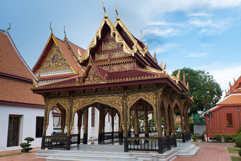 موزه ملی بانکوک و کاخ وانک نا | National Museum & Wang Na Palace