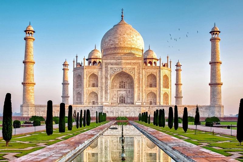 تاجمحل . تور هند