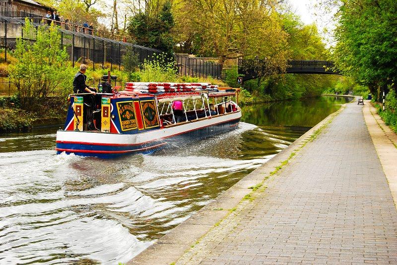 Narrowboating, England