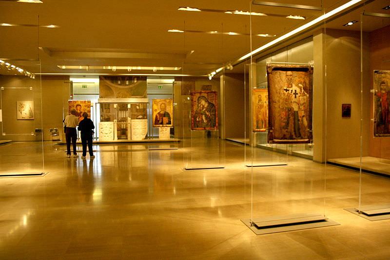 موزه بیزانس آتن
