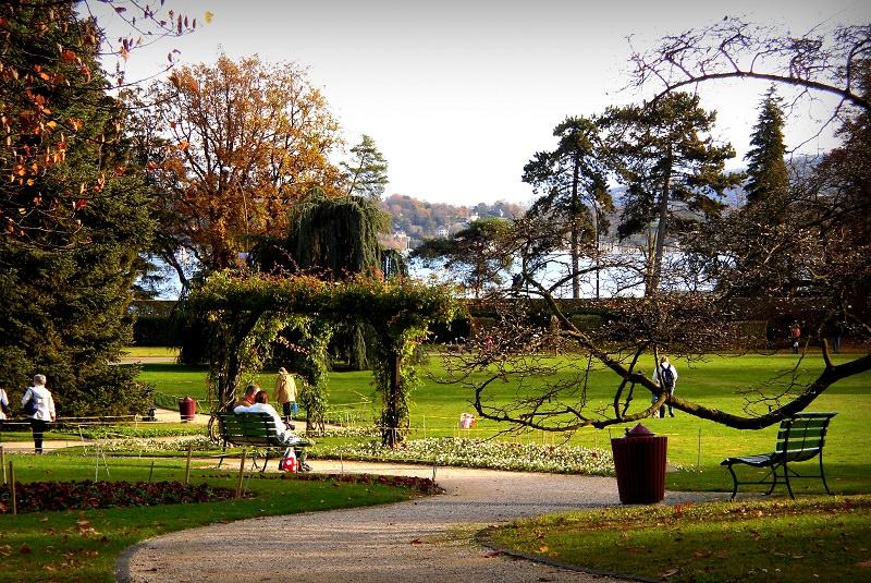 باغ گیاه شناسی ژنو