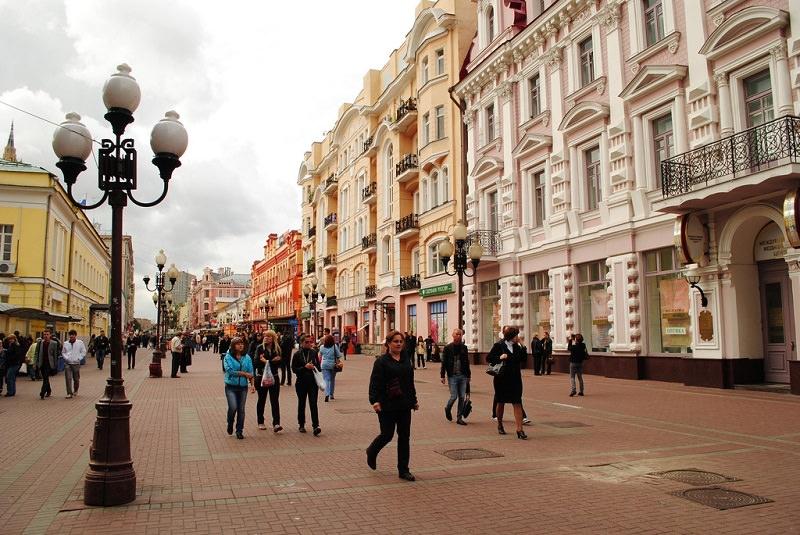 خیابان آرابات مسکو - روسیه