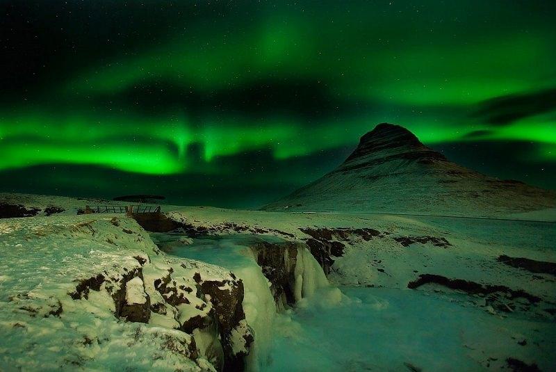 شفق قطبی کانادا