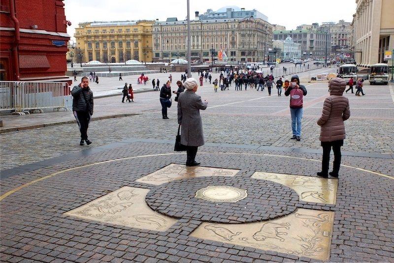 نقطه صفر مسکو- روسیه