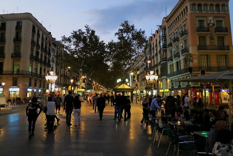 خیابان لارامبلا