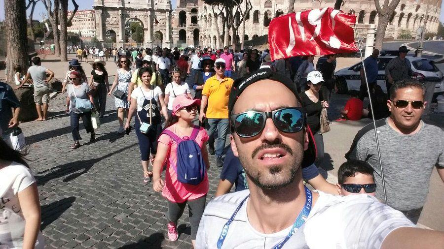 سلفی در رم