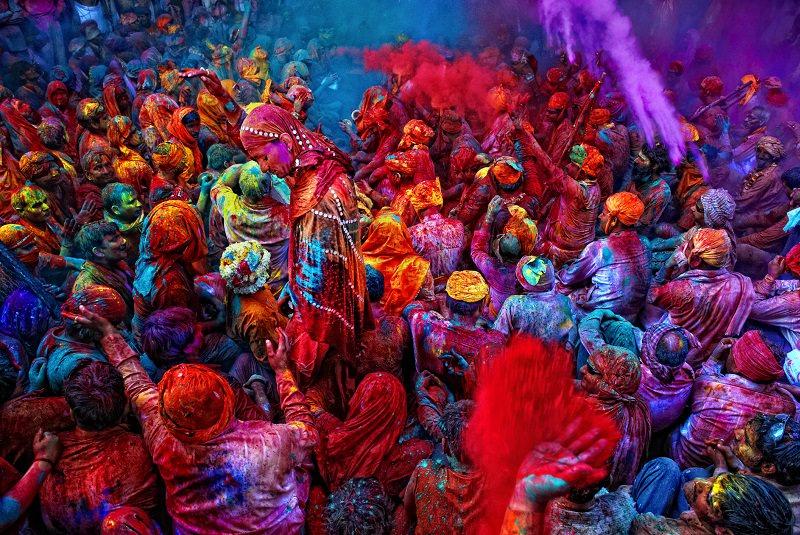 فستیوال رنگ هند