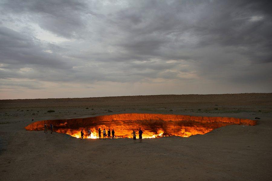 دروازهی جهنم، ترکمنستان