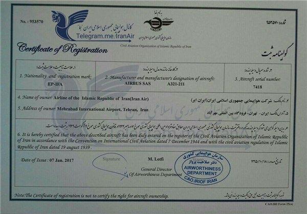 قرارداد ایران و ایرباس