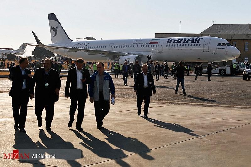 ورود اولین ایرباس به ایران