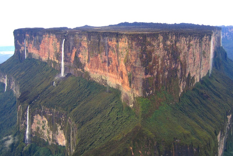 آبشار انجل - بلندترین آبشار جهان