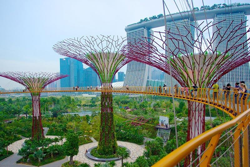 پارک های سنگاپور