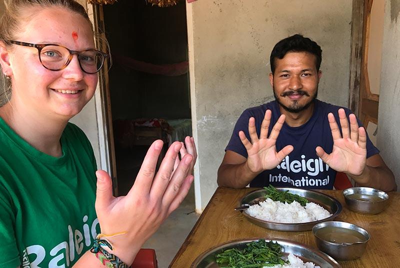 آداب و رسوم مردم نپال
