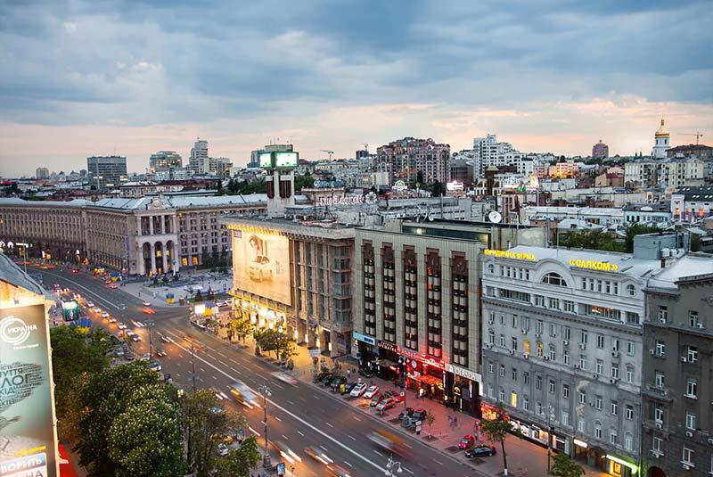 شهر کیف اوکراین
