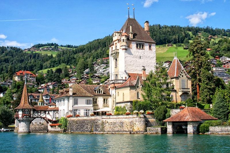 دیدنی های شهر تون سوئیس