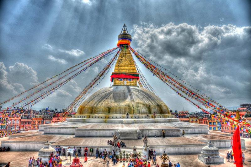 استوپای بودانات کاتماندو - نپال