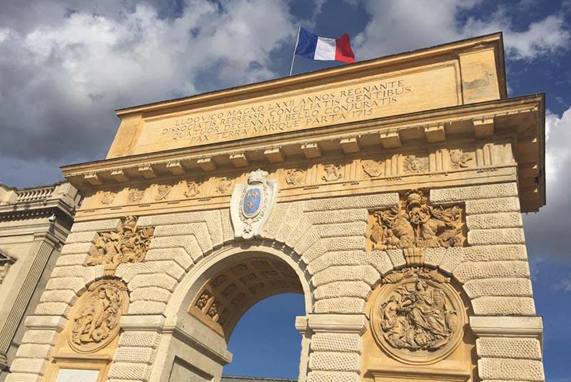 دیدنی های مون پلیه فرانسه