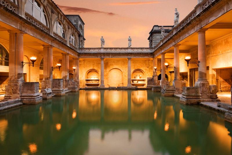 حمام رومی باث انگلستان