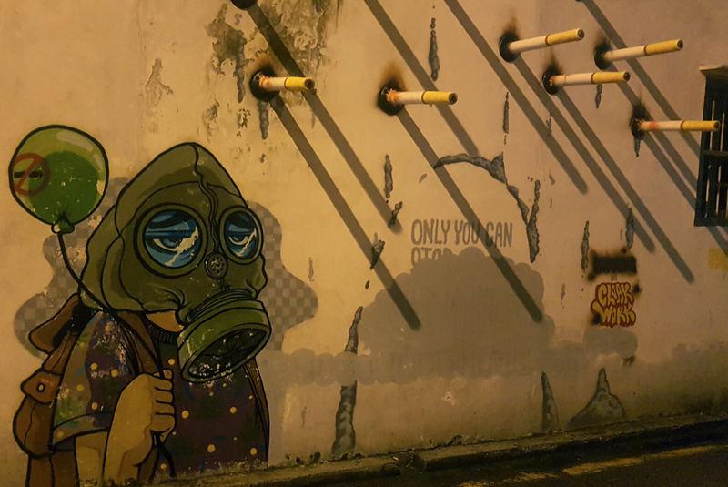 هنر خیابانی جرج تاون مالزی