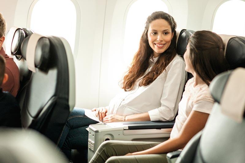 پرواز در دوران بارداری